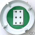 Champagne capsule 824.oe Jetons Casino - 100 Pi-6