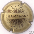 Champagne capsule 764.d Or