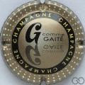Champagne capsule 799.o G. Gaité, verso or