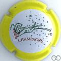 Champagne capsule 634.a Contour jaune