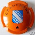 Champagne capsule 460 Orange