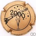 Champagne capsule 622.d Quart, rosé