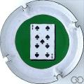 Champagne capsule 824.kh Jetons Casino - 50 Pi-9