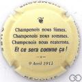 Champagne capsule 809.f Le Macaron