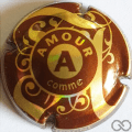 Champagne capsule A39.e A, comme amour