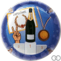 Champagne capsule A106.e Diplôme