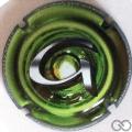 Champagne capsule 987.f Puzzle vert