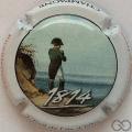 Champagne capsule 902.k L'Exile sur l'île d'Elbe