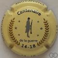 Champagne capsule 918 1/6 Centenaire14/18