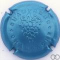 Champagne capsule 762.b Bleu métallisé