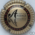 Champagne capsule 799.n A. Audace, verso or
