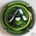Champagne capsule 987.b Puzzle vert