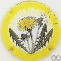 Champagne capsule 1054.c Contour jaune