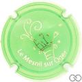 Champagne capsule A1.hd Opalis vert et or