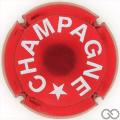 Champagne capsule 1012.b Rouge métallisé, verso or