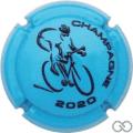 Champagne capsule C105.c Bleu et noir