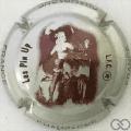 Champagne capsule 773.hb Pin'Up: gris métallisé