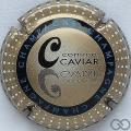 Champagne capsule 799 C. Caviar, verso métal