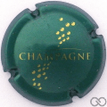 Champagne capsule 765.a Vert bouteille