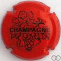 Champagne capsule 780.e Rouge et noir