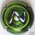 Champagne capsule 987.g Puzzle vert