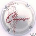 Champagne capsule 757.a Argent et rouge