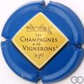 Champagne capsule 665.g Bleu ciel