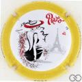 Champagne capsule 1111.g 3/5 Les Parisiennes 2021
