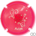 Champagne capsule A1.be Opalis rouge et or