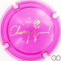 Champagne capsule C18.bg Opalis rose et or