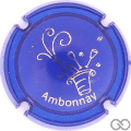 Champagne capsule A1.a Opalis bleu et or