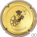 Champagne capsule 899.e Nabuchodonosor or