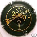 Champagne capsule 622.a Noir et or