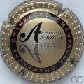 Champagne capsule 799.e A. Audace, verso métal