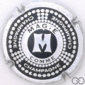 Champagne capsule 770.c M, comme magie
