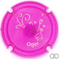 Champagne capsule A1.ja Opalis rose et or