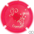 Champagne capsule A1.ge Opalis rouge et or