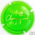 Champagne capsule C18.bh Opalis vert et or