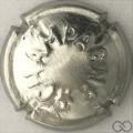 Champagne capsule 369.s Quart, métal, étoile étroite
