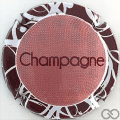 Champagne capsule 947.a Vieux rose