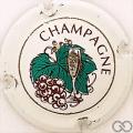 Champagne capsule 595 Blanc