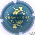 Champagne capsule 766.f Bleu
