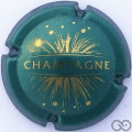 Champagne capsule 764.a Vert bouteille