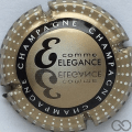 Champagne capsule 799.q E. Elégance, verso or