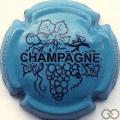 Champagne capsule 780.d Bleu et noir