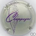 Champagne capsule 757.c Argent et violet