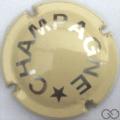 Champagne capsule 425.f Crème et métal
