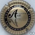 Champagne capsule 799.k A. Art, verso or