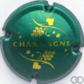 Champagne capsule 766.a Vert bouteille