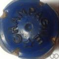 Champagne capsule 71.a Bleu foncé